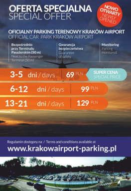 PARKING Terenowy - Airport Kraków Balice